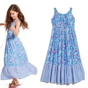 Lily Pulitzer my fans girls maxi dress